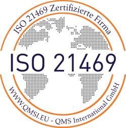 ISO 21469 Logo